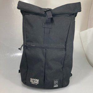 Chrome Industries Large Rolltop Black Backpack